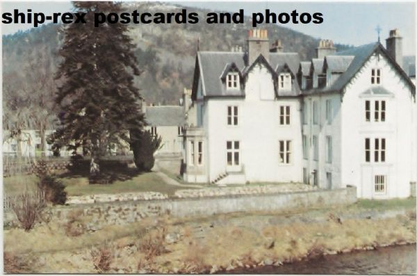 Ballater, Invercauld Arms Hotel, postcard